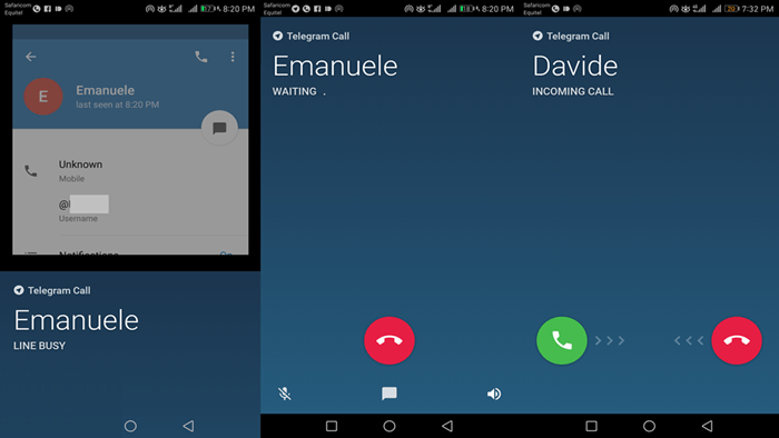 اموزش تماس صوتی با تلگرام ویندوز Call Telegram Windows + تصاویر